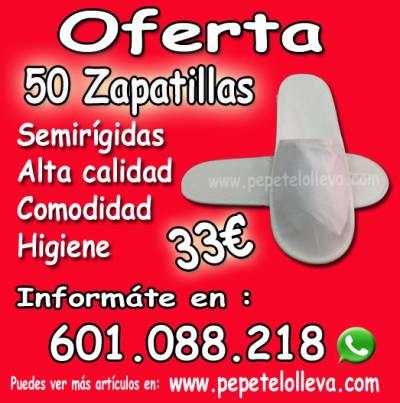 50 toallas desechables de ducha  35€