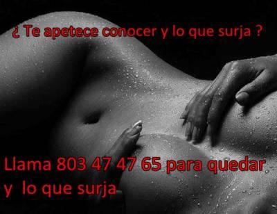 LINEA ERÓTICA PARA QUEDAR Y LO QUE SURJA 803 47 47 65