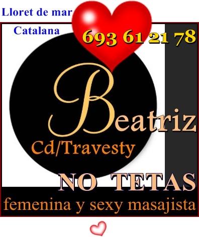 LLORET DE MAR/BLANES__TRAVESTY/CD__CATALANA__MASAJISTA SEXY