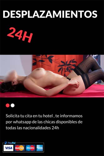 En nuestro piso o tu hotel masajes eróticos