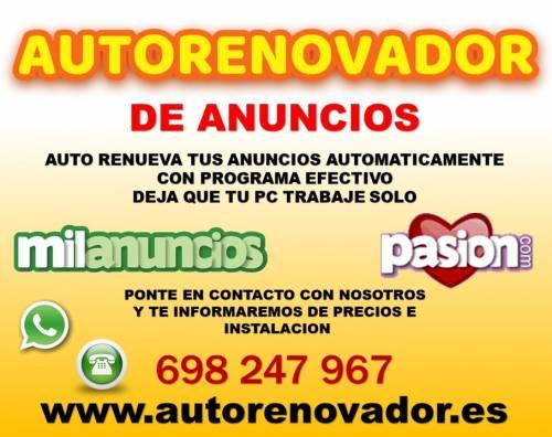 PROGRAMA AUTORENOVADOR DE ANUNCIOS