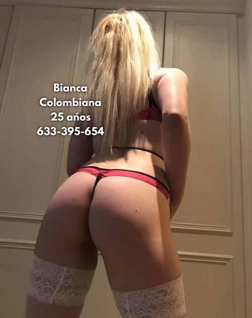 BIANCA COLOMBIANA TRAVIESA Y JUGUETONA GRIEGO PROFUNDO  633395654