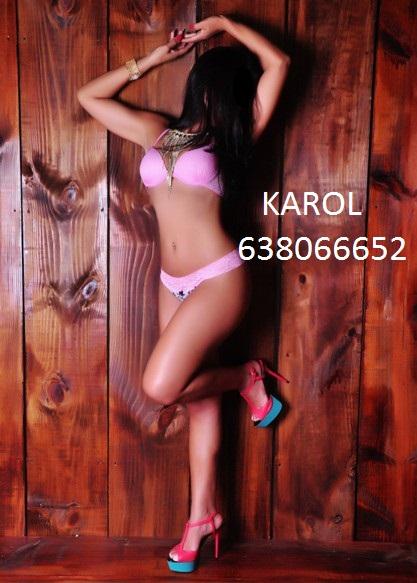 KAROL DOMINICANA CON BUEN CUERPO Y FRANCES 638066652