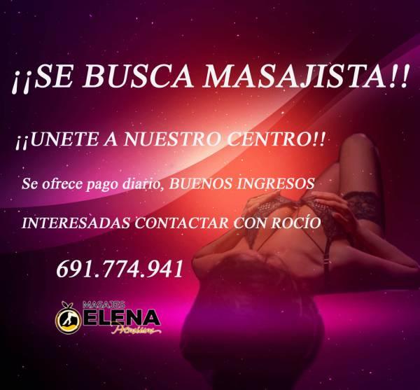 ♥ UNETE AL MEJOR STAFF DE MASAJISTAS CENTRO♥ BUSCAMOS BELLAS  603709434
