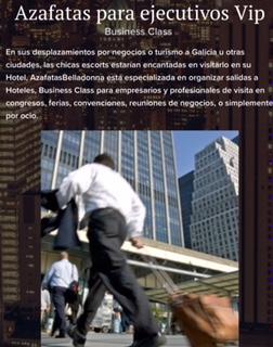 Azafatas Belladonna Escorts de alto standing. En t 635171163