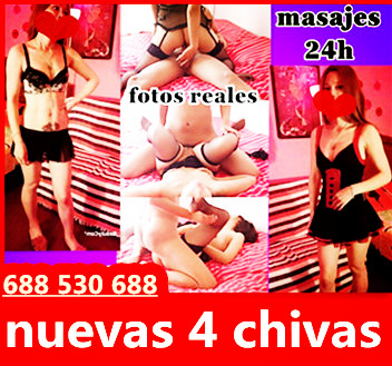 JOVEN 4 CHICAS MASAJES PARA TODOS 24H 688530688