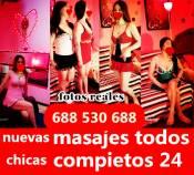 NUEVAS 4 CHICAS MASAJES PARA TODOS 24H SALIDAS 688530688