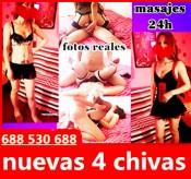 4 CHICAS MASAJES TODOS 30 EURO 24H 688530688