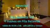 PILA BALINESA 4 MANOS NOVEDAD